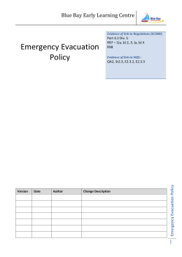 Emergency Evacuation Policy_BB_2012