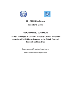 FINAL WORKING DOCUMENT - International Association of
