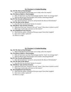 Ch. 9 Section 1+2 Guided Reading Pg. 294 The Rule of