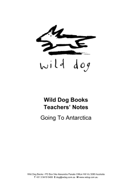 Synopsis - Wild Dog Books