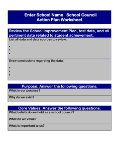 Action Plan Worksheet - GeorgiaEducation.org