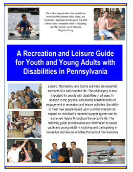 Recreation and Leisure PA Guide