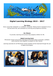 Digital Learning Strategy 2015 – 2017