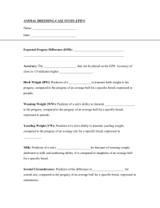 EPD Worksheet