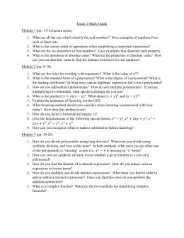 Algebra 2 Worksheets with answer keys