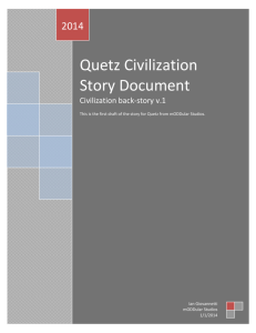 Quetz Civilization Story Document