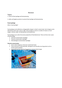 food tech Revision - Foodtechnologyyeartwelve