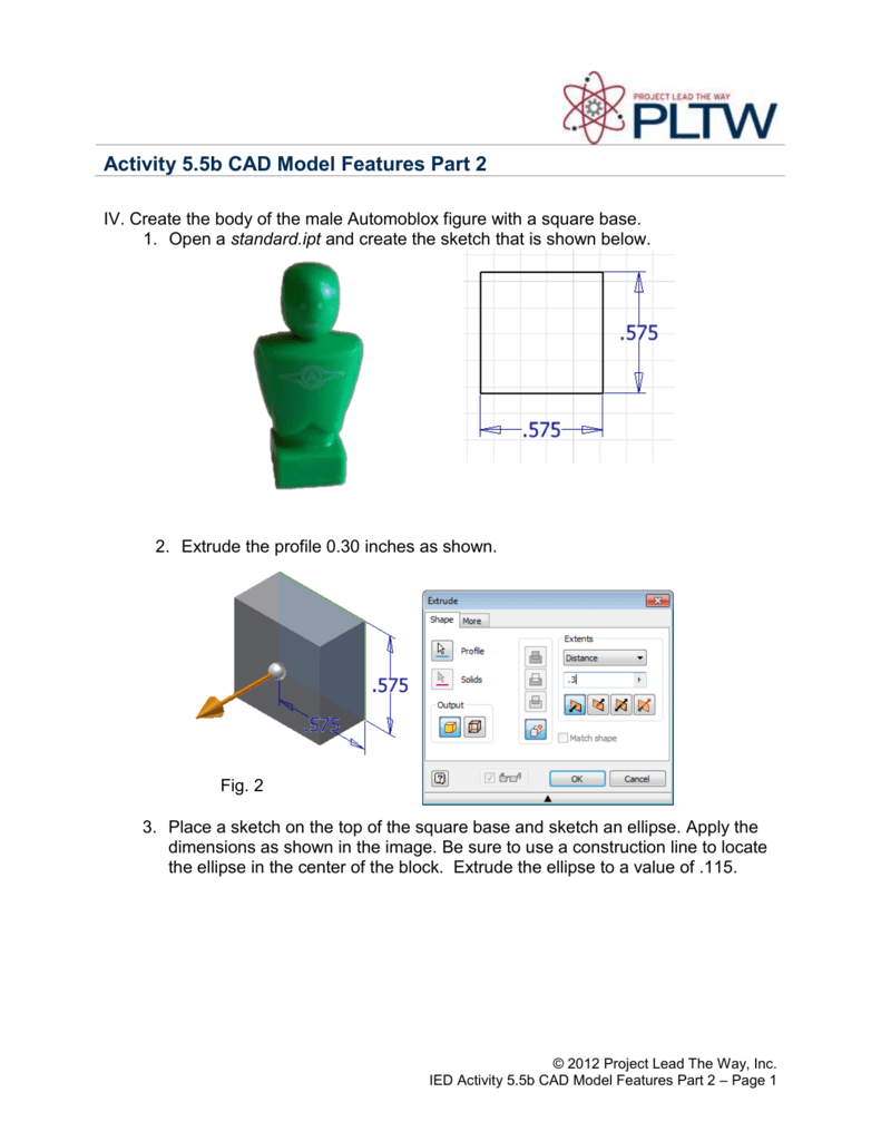 base features of cad