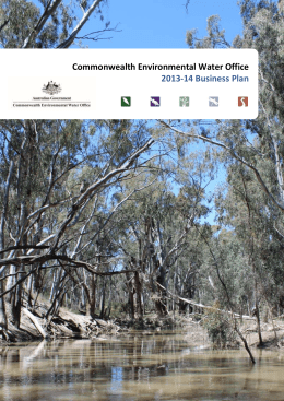 Commonwealth Environmental Water Office 2013