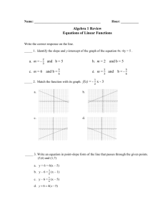 12-13-Algebra-1-Summative-4-review - Windsor C