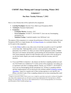Assignment 2 - Computer Science & Engineering