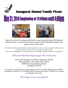 Inaugural Alumni Family Picnic - Indian Community School of