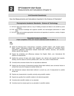 Reading Instruments With Significant Figures Worksheet