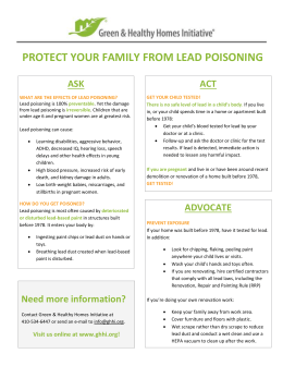 protect your family from lead poisoning act