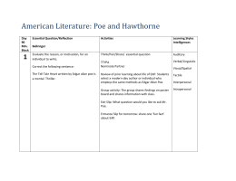 American+Literature+Poe+and+Hawthorne