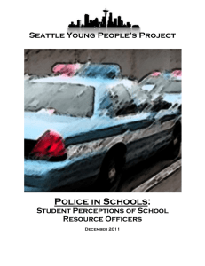 Focus Group with SYPP Members - Seattle Young People`s Project