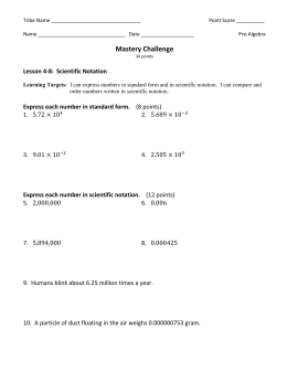 PreAlg M Challenge 4