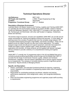 Technical Operations Director