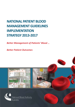 docx - National Blood Authority