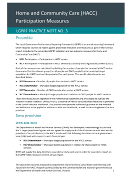LGPRF Practice Note 3: HACC Participation Measures (DOCX 43.0