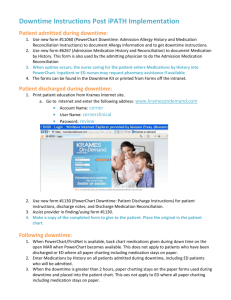 02.12.14 Post iPATH Downtime Instructions