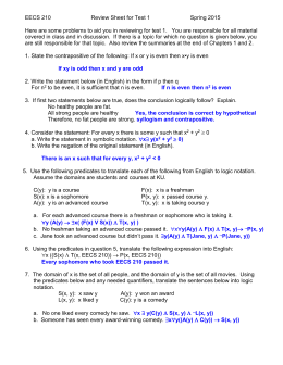 Review sheet answers