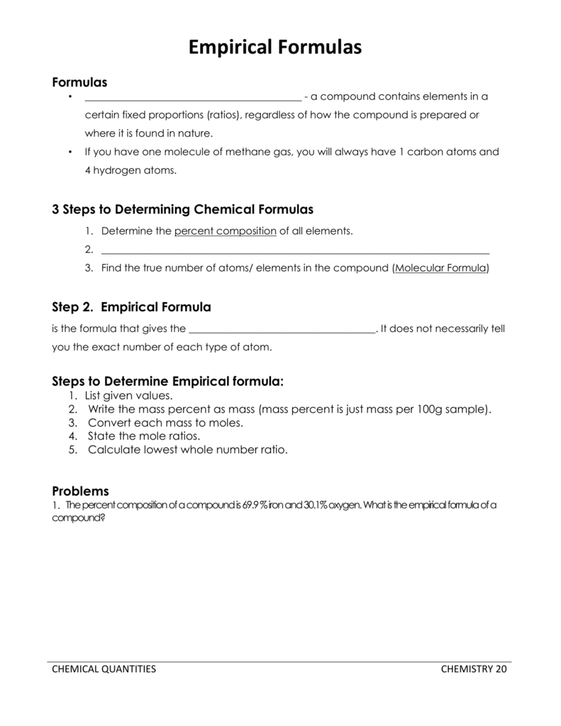 worksheet Percent Composition Worksheet Answers empirical formulas prairie spirit blogs