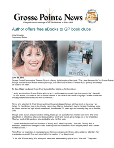 Grosse Pointe News - Colorado Authors` League
