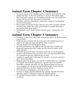 Animal Farm Chapter Four Questions