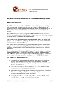 Executive Summary SANT Data Link Demonstration Project