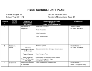 English 11 Unit Plan OF MICE AND MEN - english-b