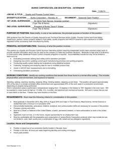 exempt job description form