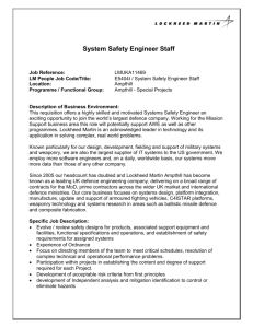 System Safety Engineer Staff