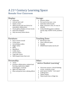 Remake Your Classroom - 21st Century Competencies Wiki