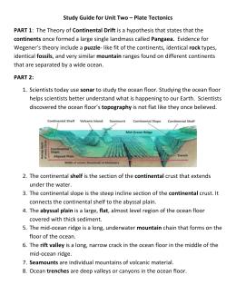 Plate tectonics plate tectonics the short report sciox Images