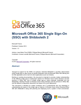 Configure ad fs 2 0 - Single sign on with office 365 ...