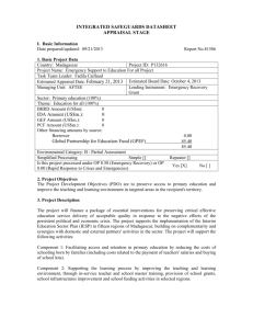 integrated safeguards datasheet - Documents & Reports