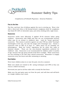 Summer Safety Tips - ProHealth Physicians