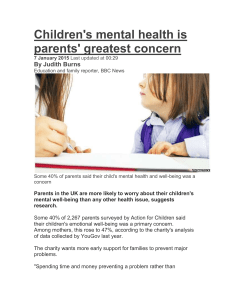 Children`s mental health is parents` gre[...]