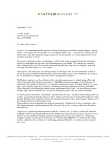 Whitney - solar thermal letter