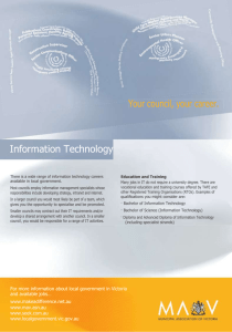 Information technology career fact sheet (Word