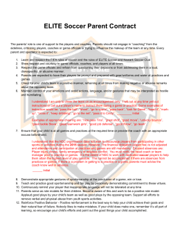 Parent Contract - Newark Soccer Club