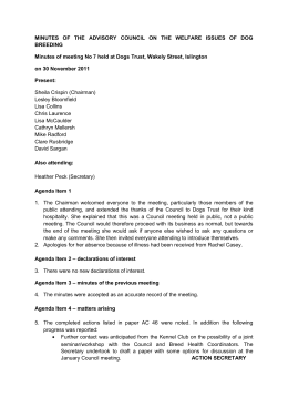 Minutes of council meeting 30 nov 31211 final