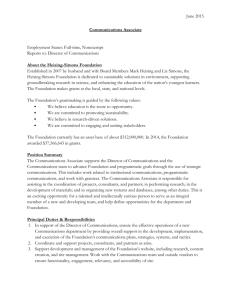 2015 Academic Hiring Survey