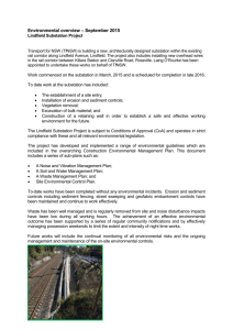 Lindfield Substation Environmental Overview