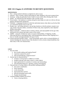 EDU 221 Chapter 8 ANSWERS TO REVIEW QUESTIONS