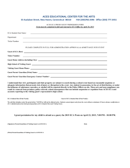 ACES ECA Prom Guest Waiver Form 2015