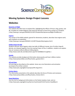 Moving Systems Design Project Web Links and Books