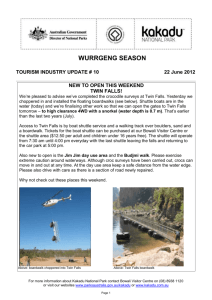 Kakadu National Park - Tourism Industry update #10 2012