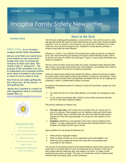 Ohio Safety Newsletter October